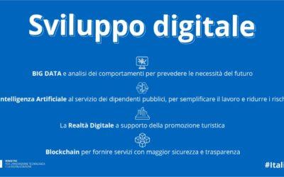 Anche il Ministero dell'Innovazione e Digitalizzazione da grande peso all'Intelligenza Artificiale