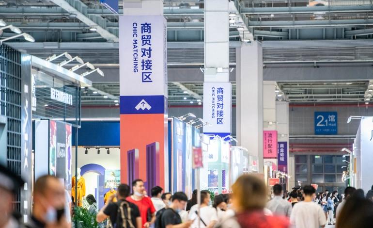 Nonostante il Covid grande affluenza alle fiere tessili di Shanghai